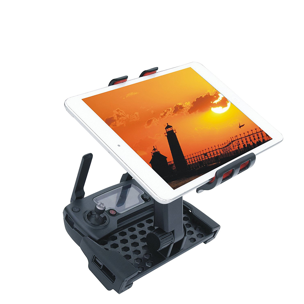 360 Degree Rotating DJI Mavic Pro Controller Monitor Extended Holder Mount Bracket for 4~ 12 Phone/Tablet sx 005 360 degree rotating vehicle general magnetic phone mount holder