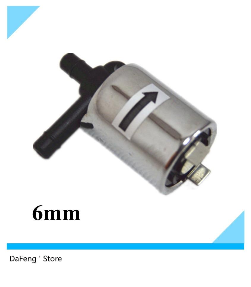 Hot sale 12VDC Plastic electromagnetic valve,solenoid valve,Diameter 6 mm,Metal shell free shipping