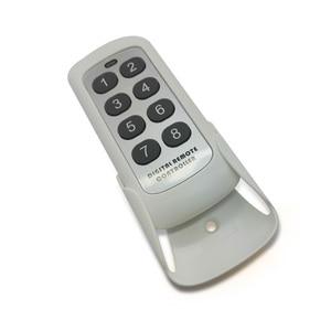 Image 5 - Modulo di commutazione RF 433MHZ trasmettitore telecomando 8 pulsanti codice di apprendimento chiave Wireless universale per porta del Garage del cancello