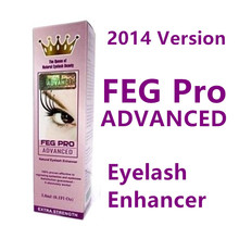 FEG Pro ADVANCED Eyelash Enhancer 2014 Version with Hologram Stickers Authentic FEG Eyelash Growth Liquid