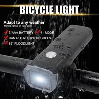 WasaFire 방수 4 모드 자전거 전면 조명 LED 사이클링 전조등 회전 360 학위 farol 자전거 라이트 램프 luces bicicleta