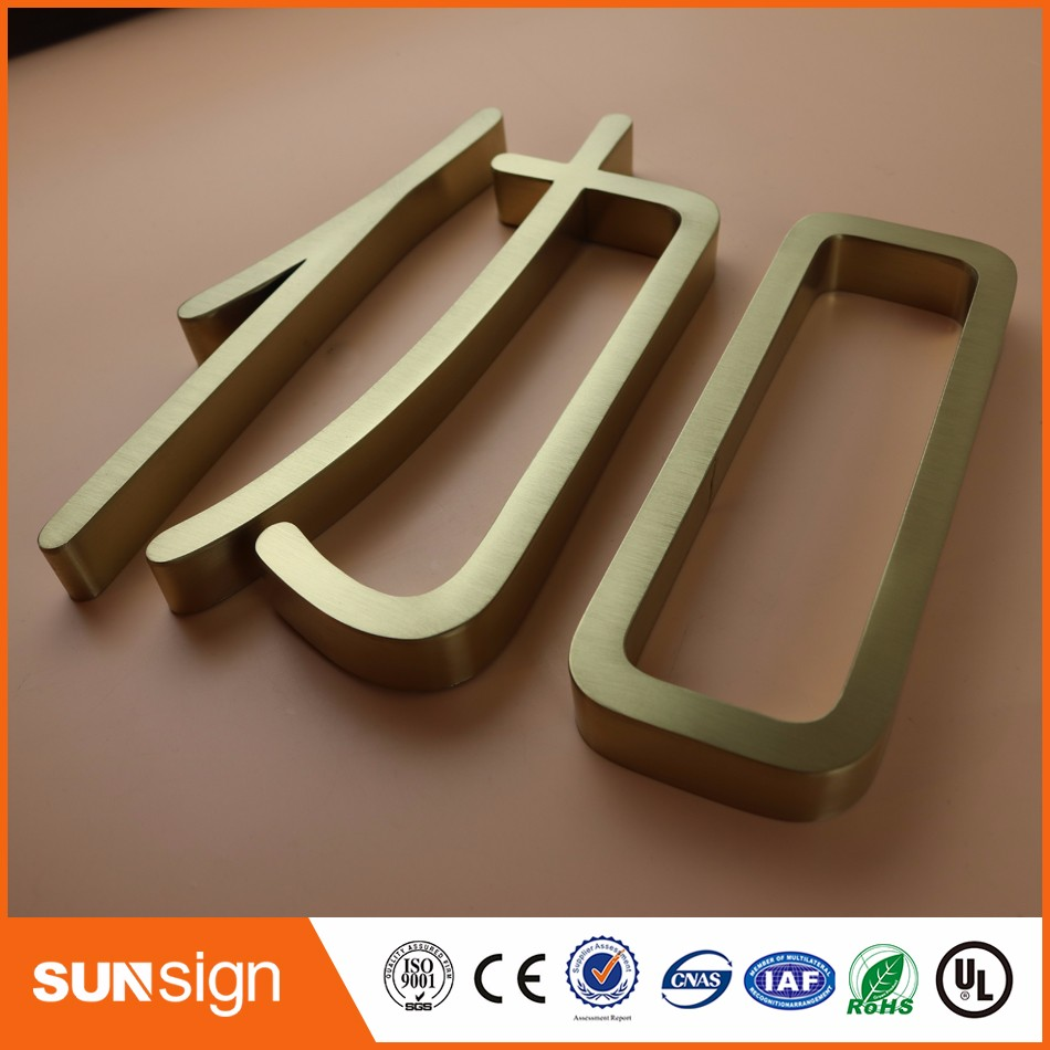 Cheap letter sign board