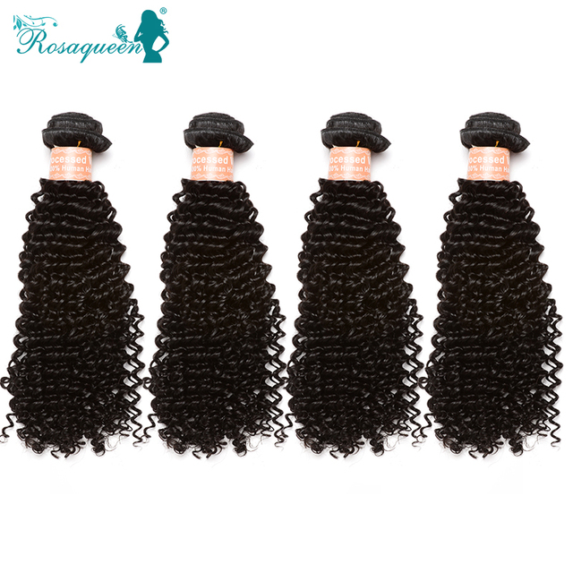 Mongolian Kinky Curly Hair Tight Curly Human Hair Extensions Unprocessed 100% Human Hair Weave 4 Pcs Lot Kinky Curly Virgin Hair