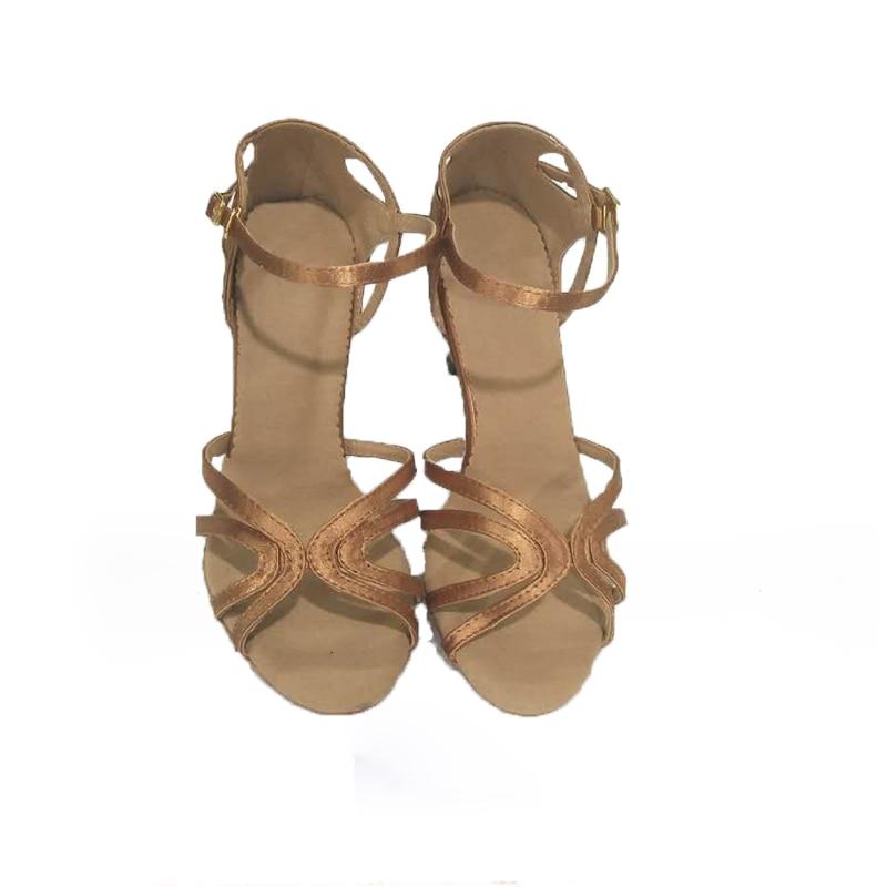 Shengzixue marke Der neuen frauen Latin tanzschuhe Erwachsene hochhackigen schuhe square dance sommer sandalen weichen boden