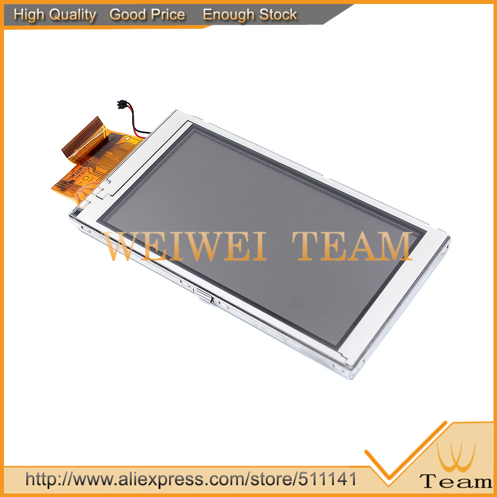 imágenes para LQ040T7UB01 Original Para Garmin Montana 600 650 650 T GPS Portátil LCD Pantalla + Touch Panel Reemplazo del Conjunto 100% prueba