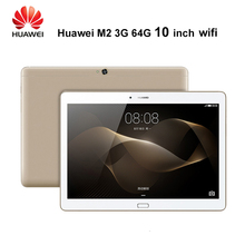 Huawei Mediapad M2 10.1 pulgadas 3G Ram 64G/16G Rom Wifi 6600 mAh IPS Kirin 930 2.0 GHz Núcleo Octa 13MP huawei M2 IPS 1920X1200 13MP