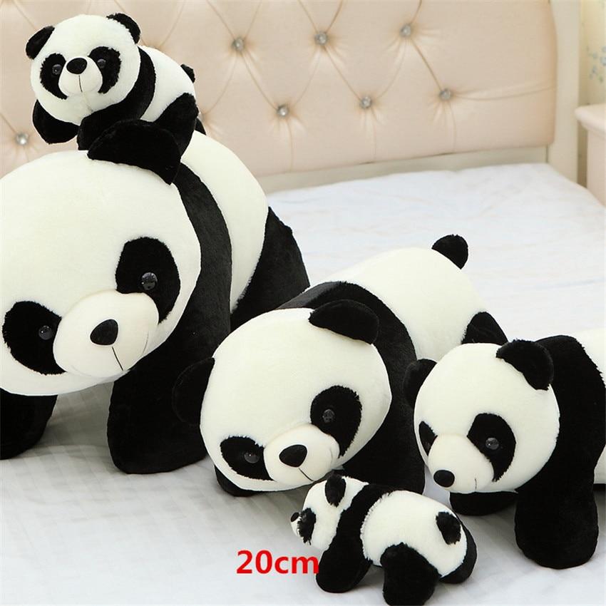 Cute Chinese New Year Wallpaper 20cm Lovely Musical Bamboo Panda Plush Toy Stuffed Animal
