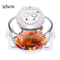 LSTACHi Condenser oven air fryer home smart multifunctional large capacity non radiation glass pot baking electric frying pan