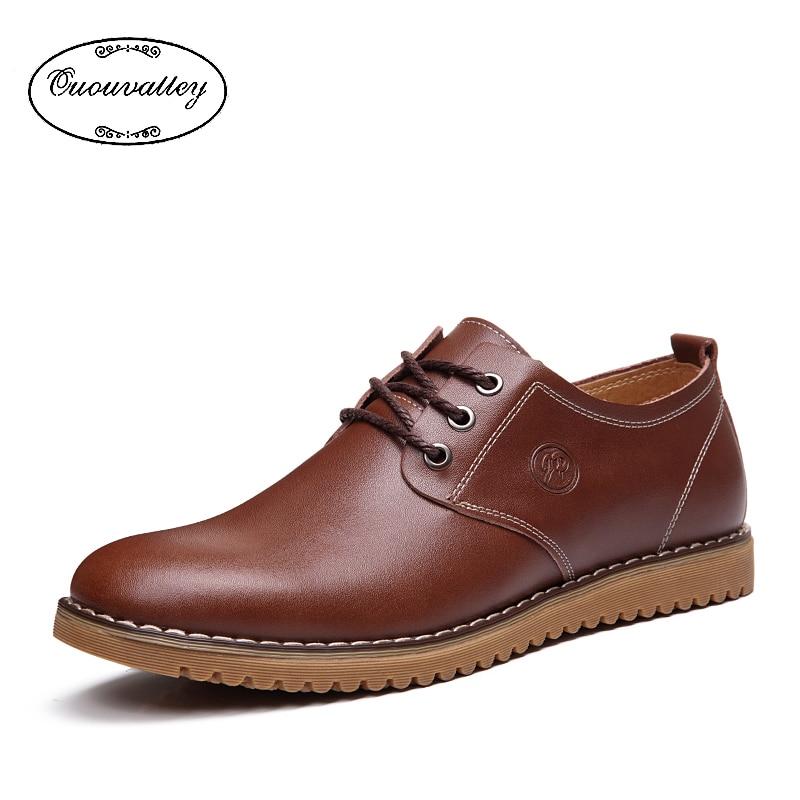 Men Flats Shoes Fashion Round Toe