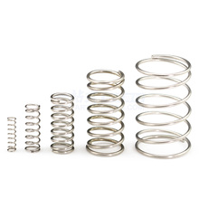 4pcs 0.6mm wire diameter outside diameter 5mm compression springs 5-50mm length compressed pressure spring
