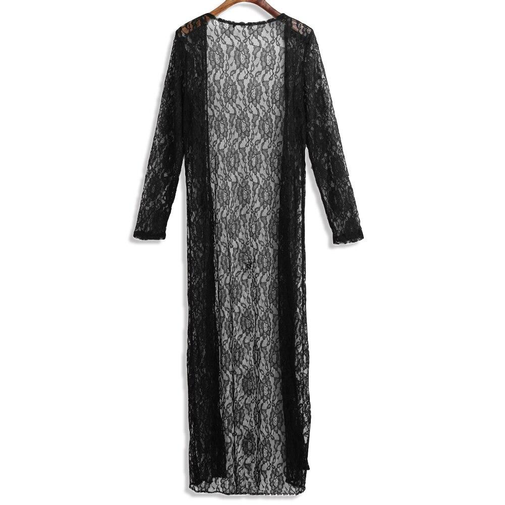 2019 pikem kleit / kimono / kardigan - värvivalikus valge ja must 2
