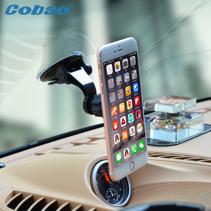 Universal car cell phone holder windshield magnetic mobile holder support telephone voiture for smartphone iPhone font