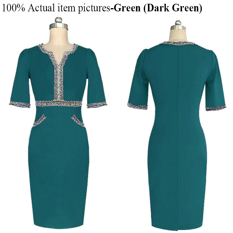BRASEI 2016 Summer Custom Fake Two Pieces Fashion Women Dress Casual Office  Dress For Ladies Bling Party Pencil Slim Dresses-in Dresses from Women s ... b406e83951ef