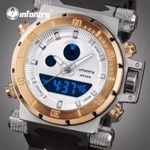 INFANTERIE Luxe Merk Heren Analoge Digitale Sport Horloges Heren Militaire Horloge Heren Chronograaf Quartz Klok Relogio Masculino