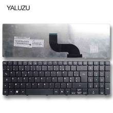 Yaluzu FR Keyboard untuk Laptop Acer Aspire 7560 7560G 7735 7735G 7735Z 5740Z 7736 7736Z 7738 7738G 7735 7735Z 7735ZG 7736G Azerty(China)