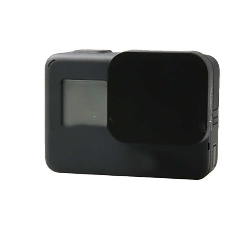 1 шт. крышка объектива для GoPro Hero 5 черная крышка объектива силиконовый защитный чехол для Go pro Hero 5 черный аксессуары для камеры