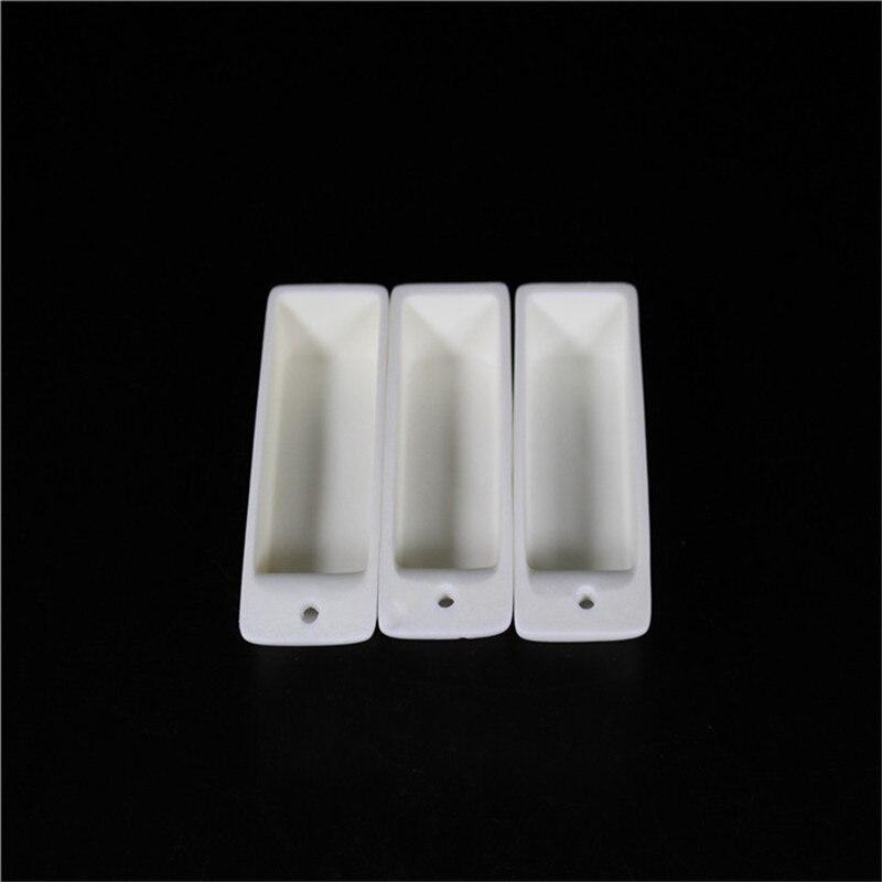 99.3% Alumina Crucible / 100*27*27 / Rectangular Corundum Crucible / Al2O3 Ceramic Crucible / Sintered Crucible