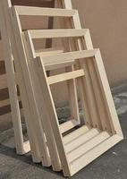 Wood Frame for Canvas Paintings You need to install it yourself, you can also contact me to choose your size