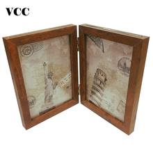 Combination Wood Photo Frame,Picture Frame 6Inch 7Inch Poster For Tabletop Decoration,Painting