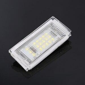 Image 4 - 2 חתיכות Led לוחית רישוי אור Led Canbus אוטומטי זנב אור לבן LED נורות עבור BMW 3er E46 4D 1998 2003 אביזרי רכב