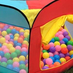 Image 4 - Draagbare Spelen Kinderen Tent Kinderen Indoor Outdoor Oceaan Ballenbad Vouwen Cubby Speelgoed Kasteel Enfant Kamer Huis Cadeau Voor Kinderen