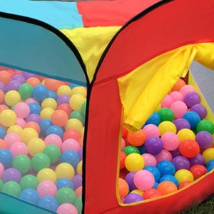 Image 4 - Tienda de juegos portátil para niños, PISCINA DE BOLAS plegable para interior y exterior, juguetes para niños