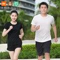 Xiaomi ZENPH быстросохнущая легкая дышащая Спортивная удобная спортивная футболка с короткими рукавами для мужчин и женщин