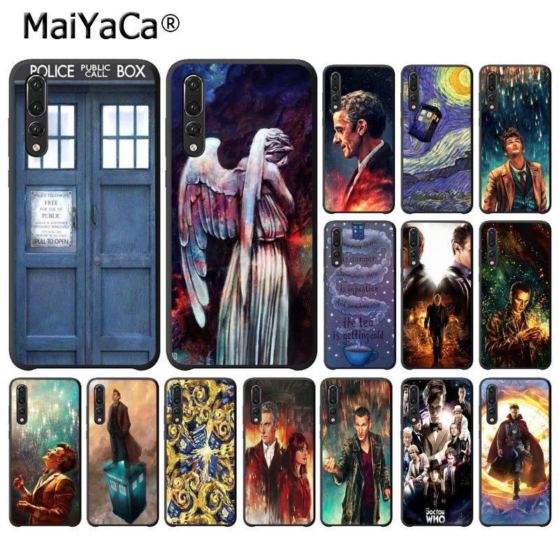 Half-wrapped Case Forceful Maiyaca Tardis Doctor Dr Who Police Box Phone Case For Huawei P20lite P10 Plus Mate9 10 Mate10 Lite P20 Pro Honor10 View10