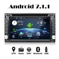 4 ядра 800*480 2 Din Android 7,1 Fit NISSAN QASHQAI Tiida автомобильных аудио стерео радио gps ТВ 3g Wi Fi DVD Automotivo Универсальный DDR3