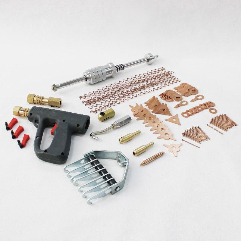 Système de débosselage miracle dent puller kit spot en aluminium soudeur soudure station dent tirant machine véhicule panneau spot spotter