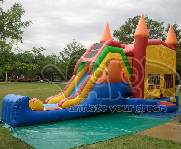 El mini castillo hinchable Backyard, inflable castillo hinchable para los niños
