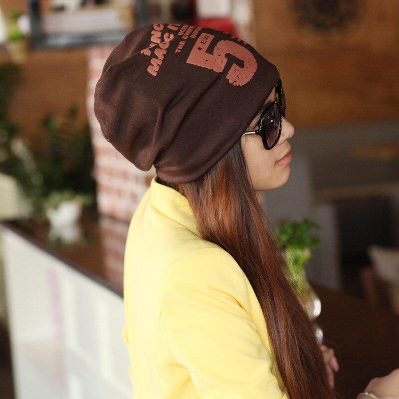 number 5 pattern femme skullies unisex autumn beanies winter warm chapeau women hat female knitted cap ladies bonnet skullies