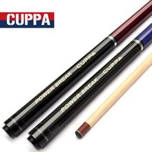 Cuppa Break Punch & Jump Cues 138cm Length Red Blue Two Colors Billiard Stick Professional Black Kit China 2019