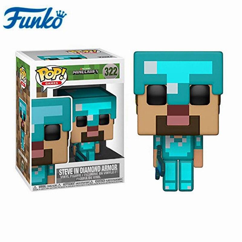 Minecraft Diamond Steve Action Figure New Toys Hobbies Figures Tv Movie