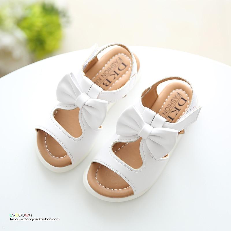2018 Νέα άφιξη κορίτσια σανδάλια μόδα - Παιδικά παπούτσια - Φωτογραφία 3