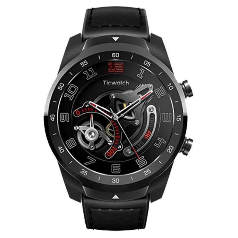 Original Xiaomi Ticwatch Pro Bluetooth Smart Watch IP68 Waterproof NFC Payments/Google Assistant OS GPS Men Business Smartwatch