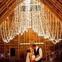 72ft 22M 200 LED Outdoor 8 Models White Solar Lamp LED String Lights Fairy Holiday Christmas