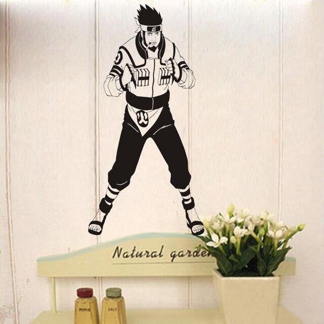 Naruto Vinyl Wall Sticker Anese Cartoon Elder Age Boys Mural Decal Kid S Bedroom Decorative Home Decoration