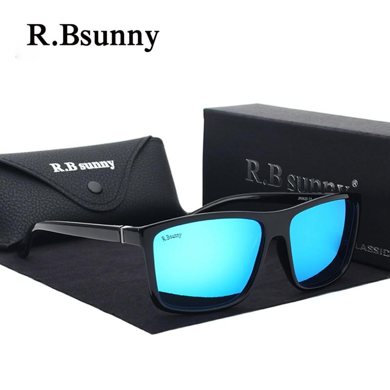 R. bsunny R6625 nuevos hombres marcas gafas de sol polarizadas moda de negocios  clásico alta calidad bloque conducción resplandor en Gafas de sol de ... 4f1fa6f98bd7
