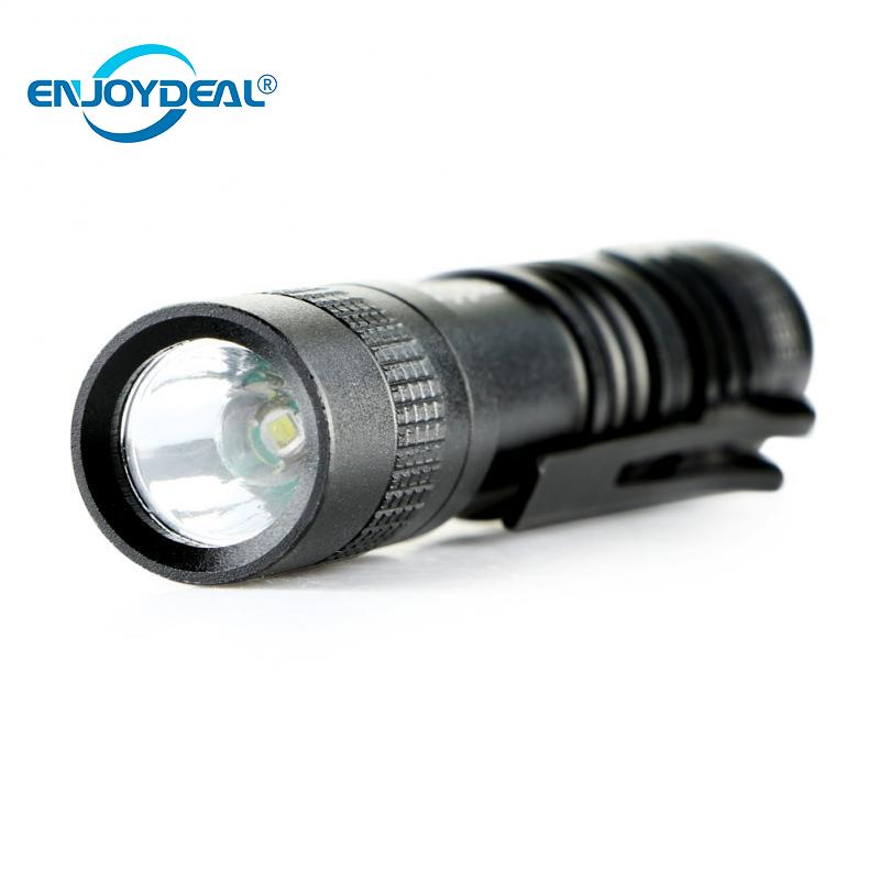 Enjoydeal R3 1000 Lumens LED Mini Penlight Flashlight Lamp Mini Penlight Waterproof Flashlight Torch AAA For Outdoor Lighting