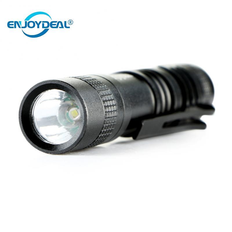 Enjoydeal R3 1000 Lumens LED Mini Penlight Flashlight Lamp Mini Penlight Waterproof Flashlight Torch AAA For Outdoor Lighting