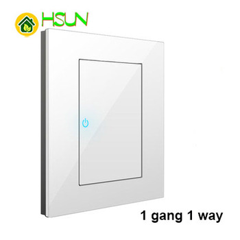 86 Type White Tempered glass Switch 1 2 3 4 gang 1 2 way Lizard Point Switch Comuter TV Telephone Socket Household Wall Switch 18