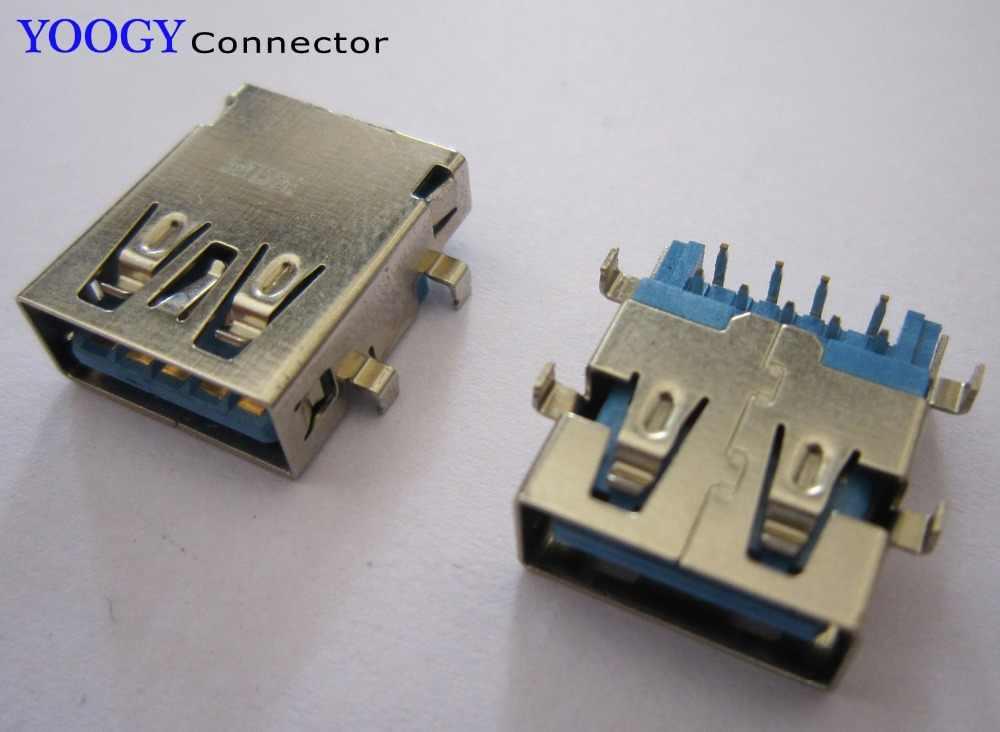 USB נקבה 3.0 כושר מחבר עבור Sony SVF152 ו האם מחשב נייד סדרת Toshiba Satellite E45T-A4100 יציאת שקע usb3.0