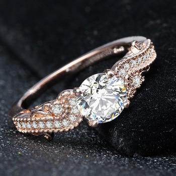 14K Gold Princess Engagement Diamond Ring for Women Peridot Anillos De Bizuteria Gemstone Bague Etoile Mystic Jewelry Rings 2019 2