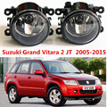 Для Suzuki Grand Vitara 2 JT 2005-2015 стайлинга Автомобилей Противотуманные Фары галогенные лампы 1 компл.