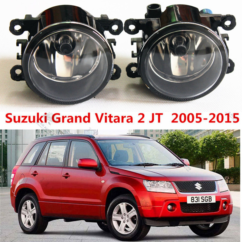 For Suzuki Grand Vitara 2 JT 2005-2015  Car styling Fog lights halogen lamps 1set