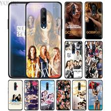 Gossip Girl TV show Phone Case for Oneplus 7 7Pro 6 6T Oneplus 7 Pro 6T Black Silicone Soft Case Cover