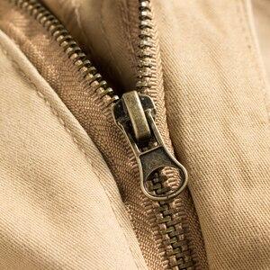 Image 5 - BOLUBAO جديد بناطيل رجالي فضفاضة الرجال متعددة جيوب السراويل العسكرية التمويه السراويل الترنك بنطلون رجالي مرونة الخصر بانت