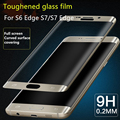 Ultra Thin 3D Premium Tempered Glass Screen Protector For Samsung Ggxalay S6 Edge S7 Edge S8 Edge Toughened Protective Film