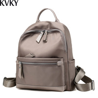 Fashion Mujer Mochila Women Female Backpack Waterproof Nylon Girls Shoulder Back Bag for Teenagers Feminina Small Bagpack
